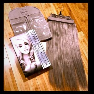 """Bellami Sterling Silver Extensions 220g 22"""""""
